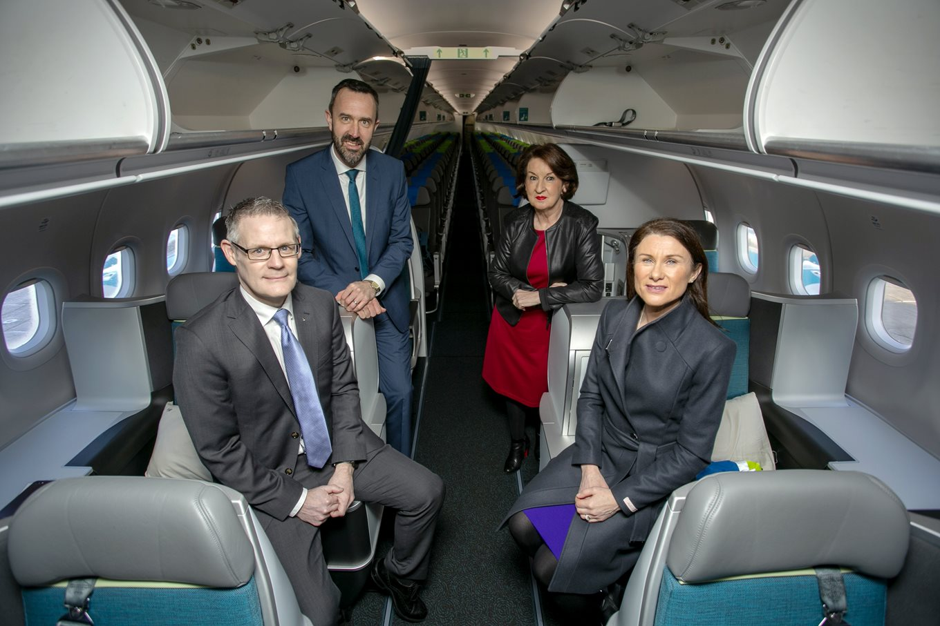 Aer Lingus launches its second new aircraft at Shannon as JFK service resumes ahead of schedule