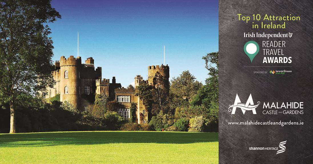 Malahide Castle and Gardens - Irish Independent Reader Travel Awards